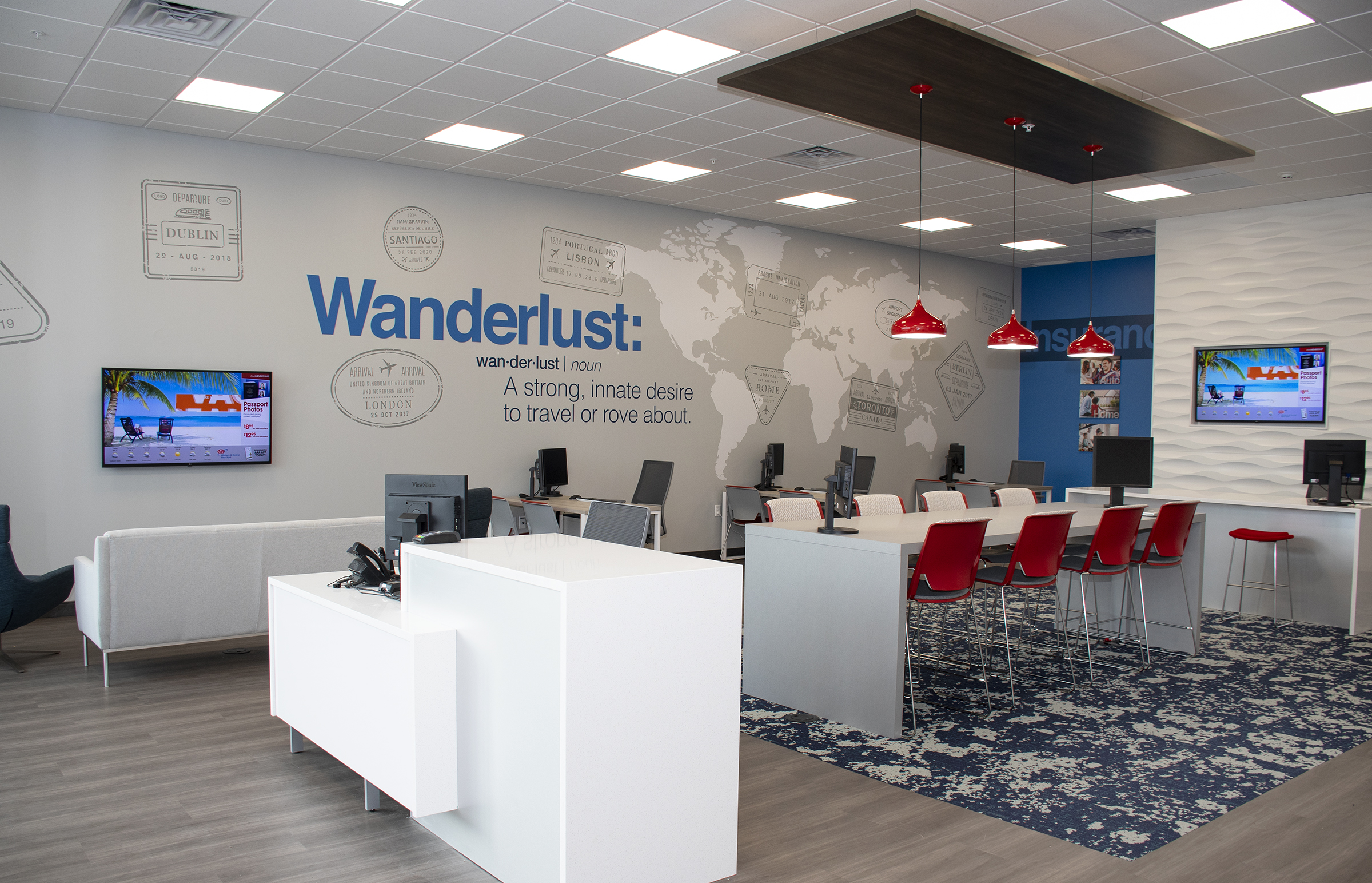Corporate Case Studies Furnishing An Expanding Office Buffalo Office Interiors